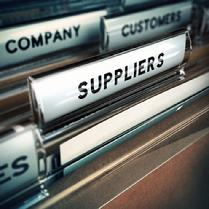 Focusing on the Right Suppliers